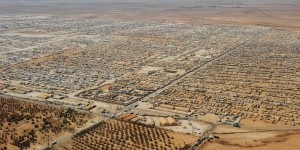 Zaatari Refugee Camp - pop 122,000 - 5th largest town in Jordan