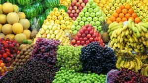 many types fruits